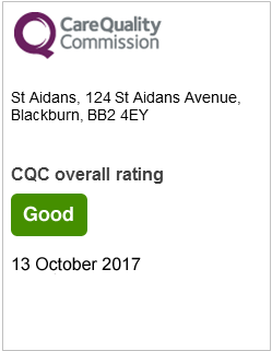 St Aidans CQC rating - Good - 13 October 2017