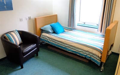 Short term breaks service bedroom