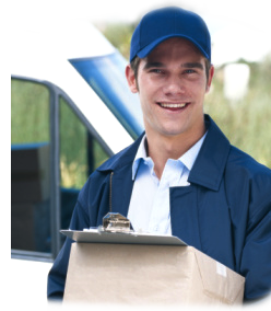 image of delivery man