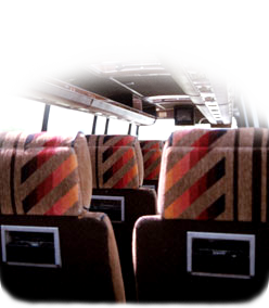 image of bus seats