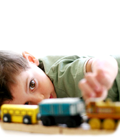 image of toy train