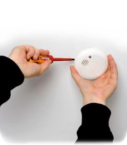 image of smoke alarm